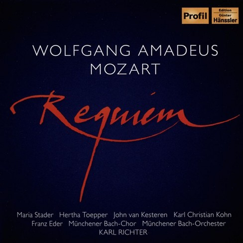 Karl richter - Mozart:Requiem (CD) - image 1 of 1
