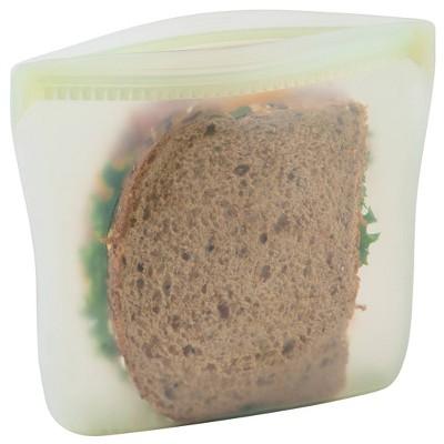 Progressive Reusable Silicone Sandwich Bag - Eggshell Green