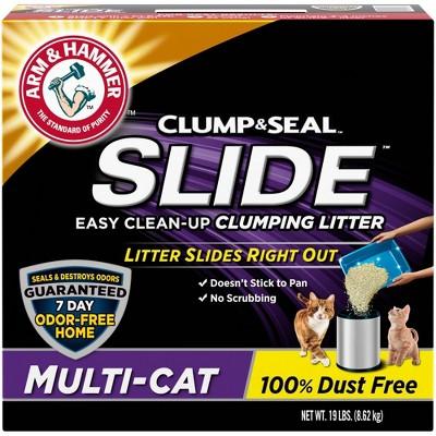 Cat Litter: Arm & Hammer Slide