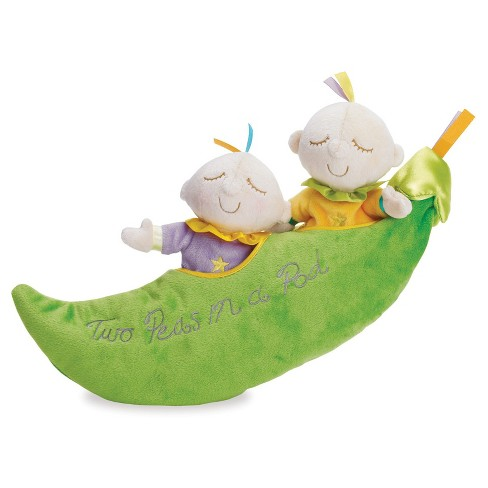 Manhattan Toy Snuggle Pods Two Peas In A Pod Soft Toy - image 1 of 2
