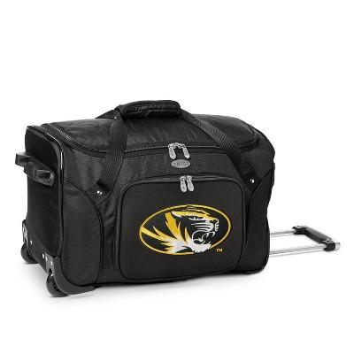 NCAA Missouri Tigers 22'' Rolling Suitcase
