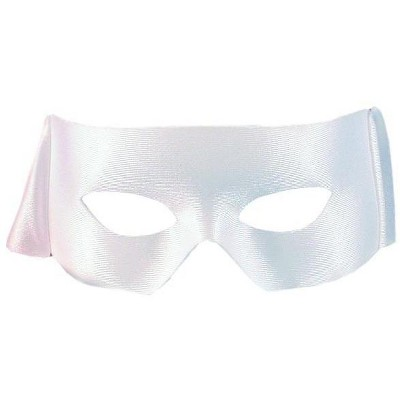 HMS Superhero Costume Accessory Mask - White
