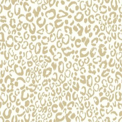 RoomMates Leopard Peel & Stick Wallpaper Gold