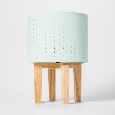 Accent Lamp Wood (Includes LED Light Bulb) - Cloud Island™ Joyful Mint