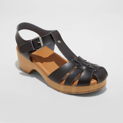 Women's Harlow Clog Heels - Universal Thread™