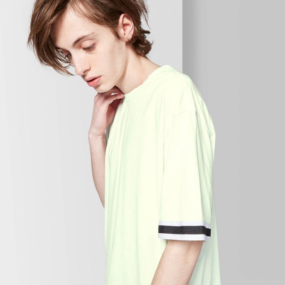 Men's Casual Fit Short Sleeve Taped T-Shirt - Original Use Moonlight Jade S