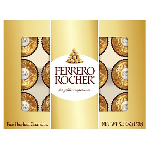 Ferrero Rocher Hazelnut Chocolates 5.3oz - image 1 of 2