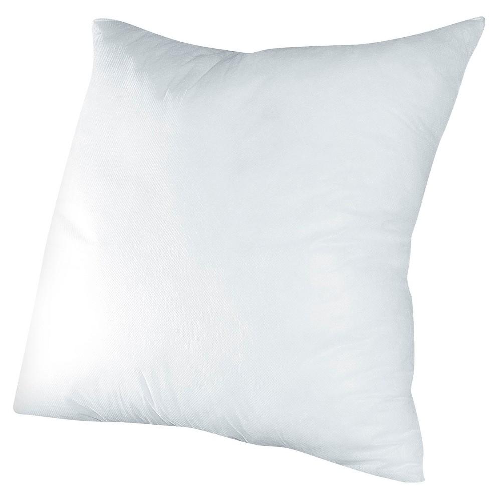 White Throw Pillow Insert (18x18)
