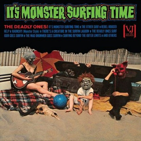 Deadly ones - It's monster surfing time (Vinyl) - image 1 of 1