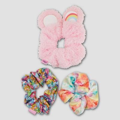 Girls' Care Bears 3pk Scrunchies