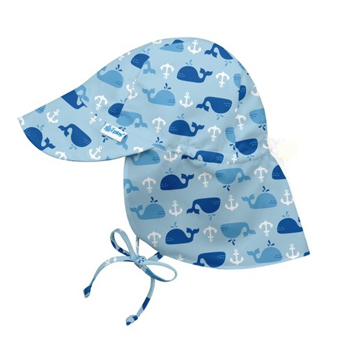 8dee00a40f5f0 I Play Baby Boys  Anchor Whale Floppy Hat - Blue M L   Target
