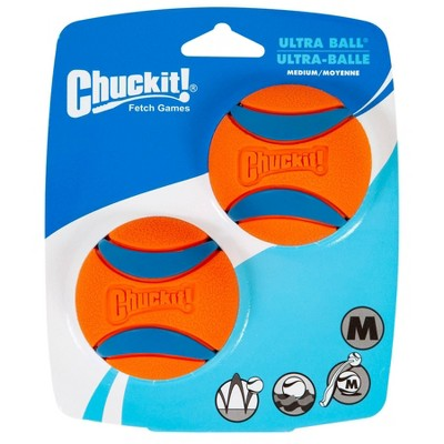Chuckit! Ultra Ball 2pk - Orange/Blue - M
