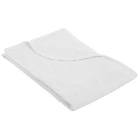 TL Care 100% Natural Cotton Thermal/Waffle Swaddle Blanket White - image 1 of 2