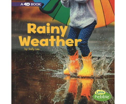 Rainy Weather : A 4D Book -  (All Kinds of Weather) by Sally Lee (Paperback) - image 1 of 1