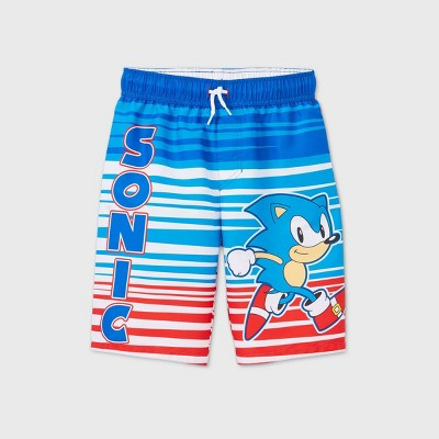 Boys' Sonic the Hedgehog Swim Trunks