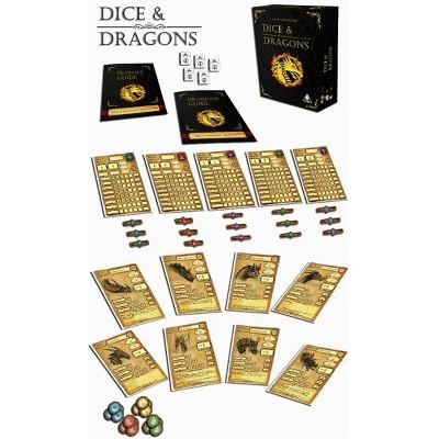 Dice & Dragons Board Game