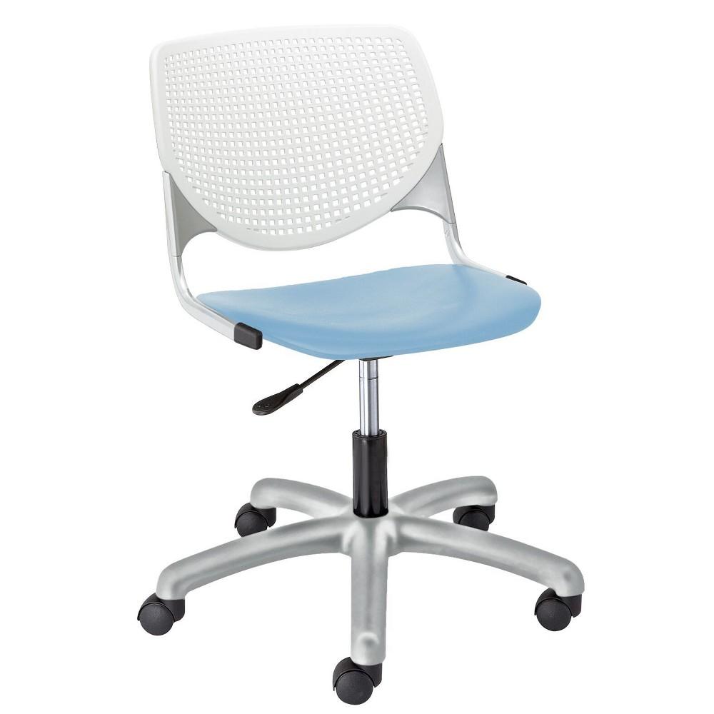 Image of Kool Poly Task Chair Sky Blue - KFI Seating