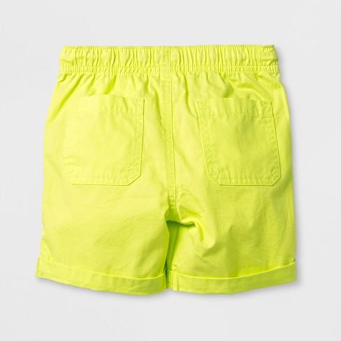 644c16b3e2 Toddler Boys' Pull-On Shorts - Cat & Jack™ Yellow - 5T