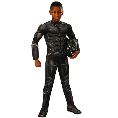 Rubie's Boys' Marvel Captain America: Civil War Deluxe Black Panther Costume - Large