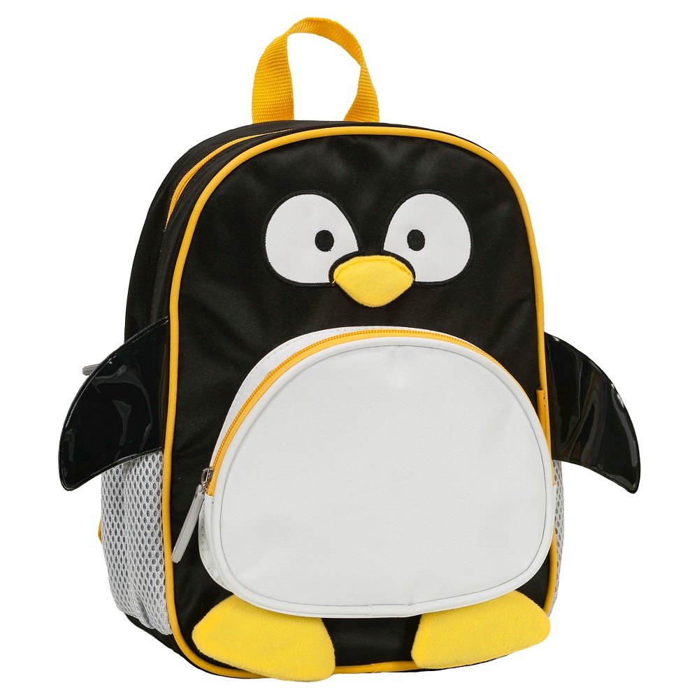 """Image of """"Rockland 12.5"""""""" Junior My First Backpack - Penguin"""""""