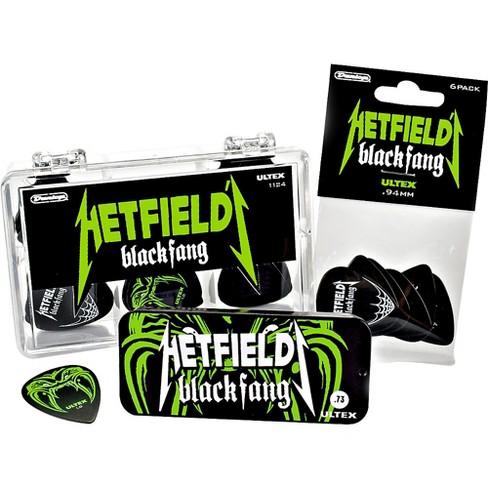 Dunlop Hetfield Black Fang Pick Tin - 6 Pack - image 1 of 6