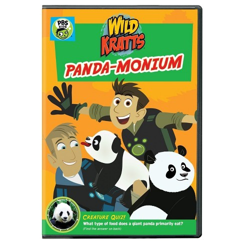 Wild Kratts: Panda-monium (DVD) - image 1 of 1