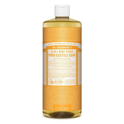 Dr. Bronner's 18-In-1 Hemp Pure-Castile Soap - Citrus - 32 fl oz