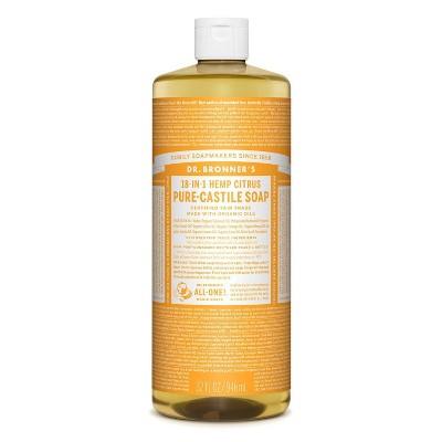 Dr. Bronner's 18-In-1 Hemp Pure-Castile Soap - Citrus - 32 fl oz