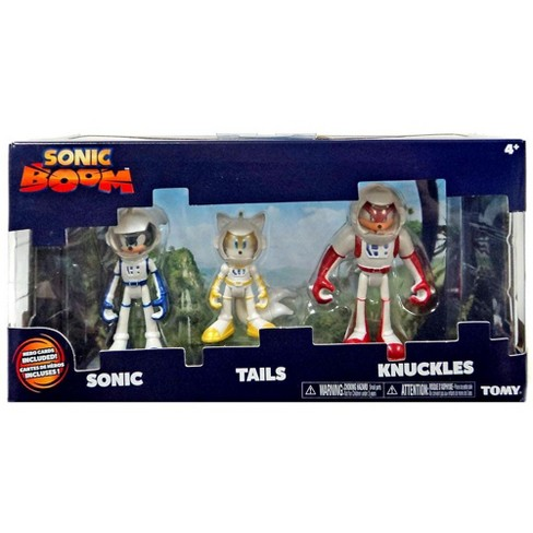 Sonic The Hedgehog Sonic Boom Sonic Tails And Knuckles Action Figure 3 Pack Spacesuits Target