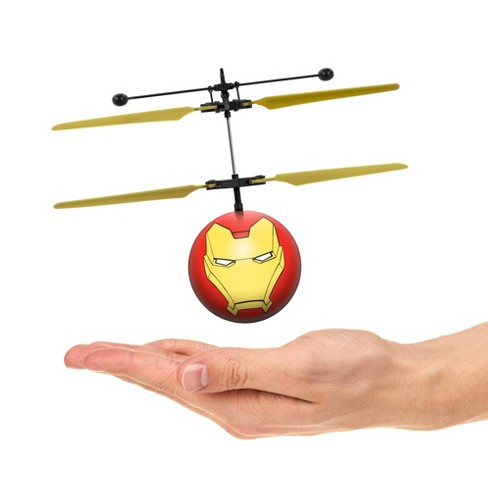 World Tech Toys Marvel Avengers Iron Man IR UFO Ball Helicopter - image 1 of 3