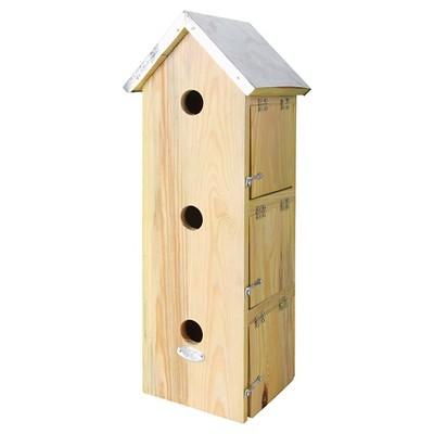 "7.7"" Starling Birdhouse Natural Wood - Beige - Esschert Design"