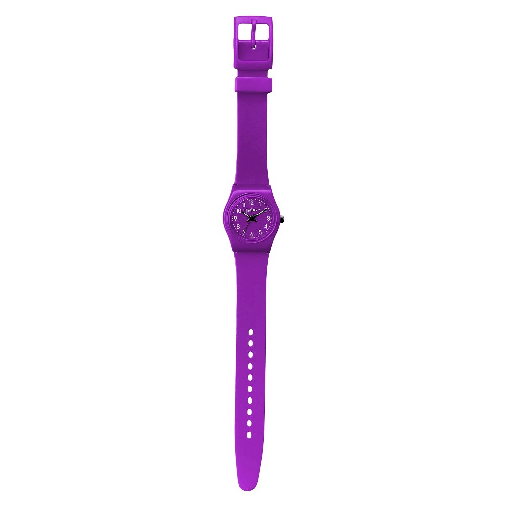 Image of Girls' Fusion Analog Watch - Purple, Girl's, Size: Small