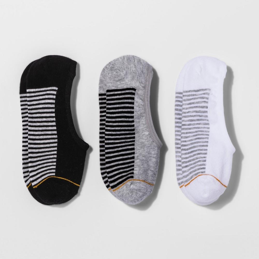 Image of All Pro Women's 3 Pack Ultralt Low Liner Athletic Socks - Black 5-10, Women's, Size: Small