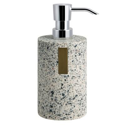 Lerrazzo Lotion Pump Gray/Natural - Allure Home Creations