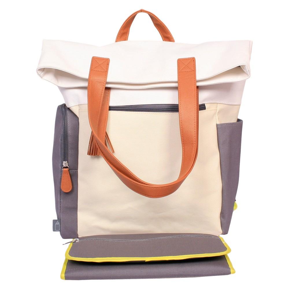 Color Block Backpack Diaper Bag - Cloud Island