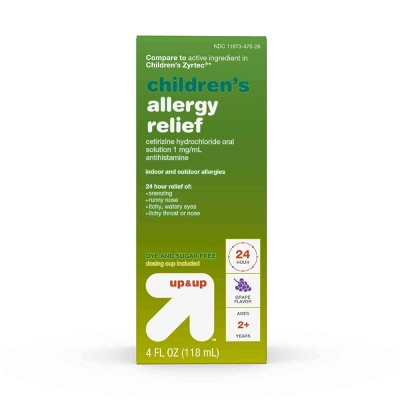 up & up Children's Allergy Relief (Compare to Zyrtec)
