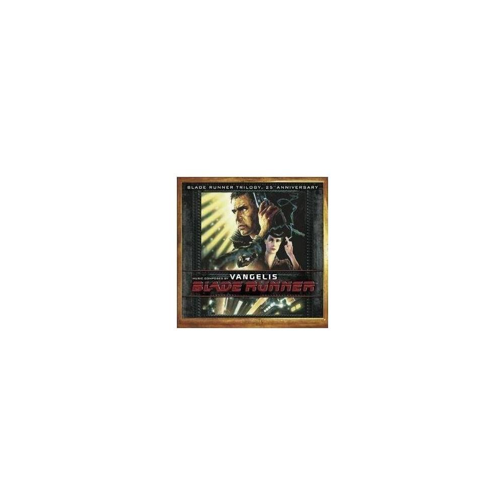 Soundtrack Blade Runner Trilogy Vangelis 3cd 25th Anniversary Edition