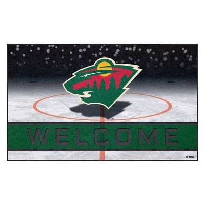 NHL Minnesota Wild Crumb Rubber Door Mat 18 x30