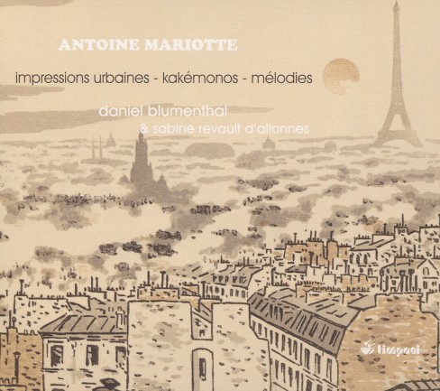 Revault d'allonnes - Mariotte:Impressions urbaines (CD) - image 1 of 1