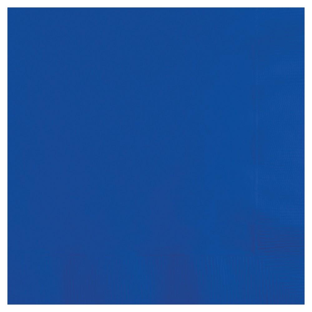 Image of 50ct Cobalt Blue Napkins, Disposable Napkins