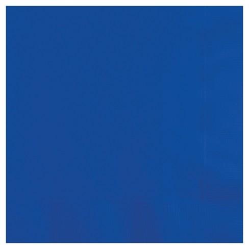 50ct Cobalt Blue Napkins - image 1 of 3