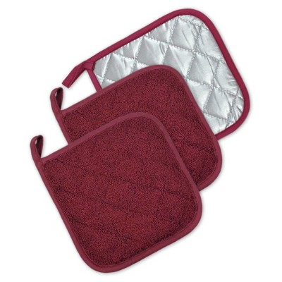 3pk Wine Potholder (7 x7 )- Design Imports