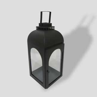 """16"""" Weathered Zinc Outdoor Lantern - Smith & Hawken™"""