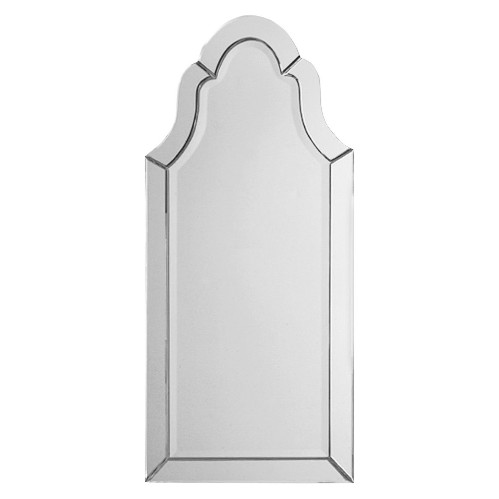Image of Hovan Frameless Arched Decorative Wall Mirror - Uttermost