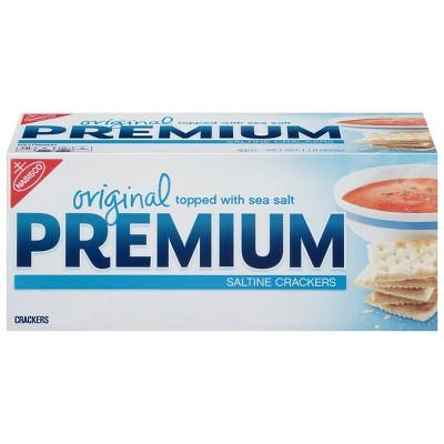 Premium Saltine Crackers, Original - 16oz