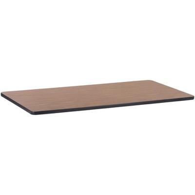 "Lorell Rectangular Activity Tabletop 30""x60"" Med Oak 99895"
