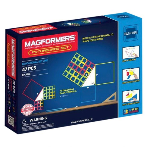 Magformers Pythagoras 47 PC Set - image 1 of 4