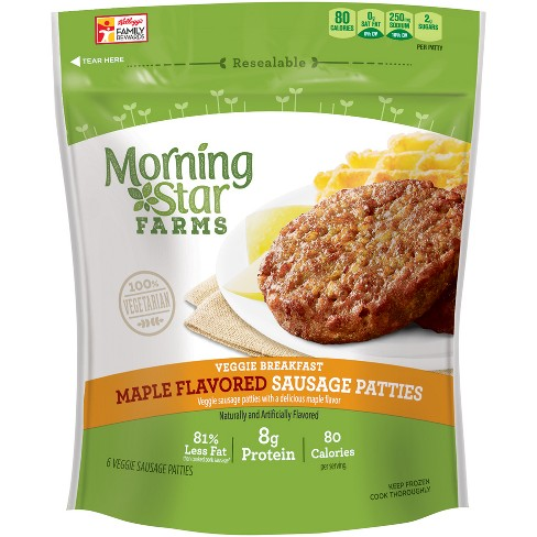 MorningStar Farms Maple Flavored Veggie Sausage Patties - 8oz - image 1 of 6