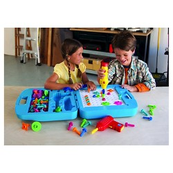 Miraculous Little Tikes Construct N Learn Smart Workbench Target Beatyapartments Chair Design Images Beatyapartmentscom