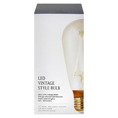 4.2 Watt LED Vintage ST19 Dimmable - Threshold™